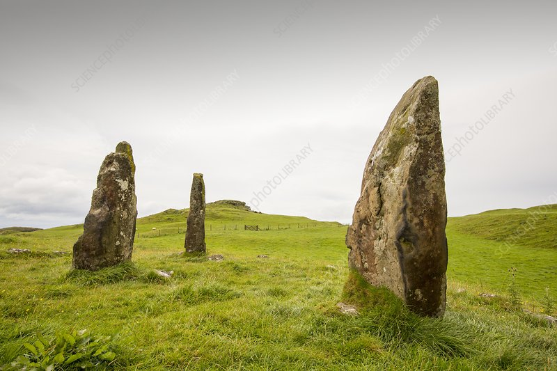 4000 year old Standing stones