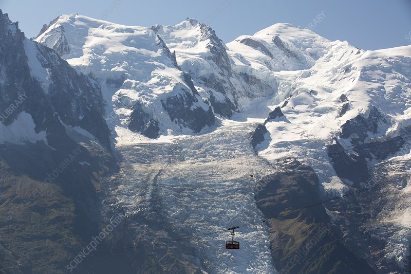 Brevent cable car, Chamonix, France