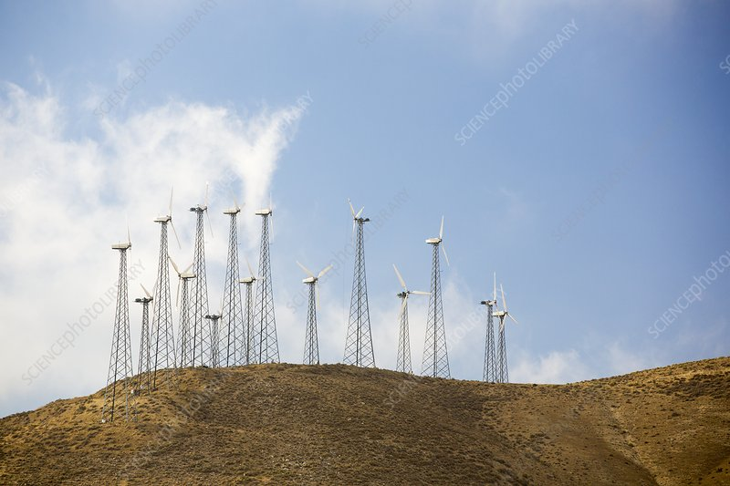Part of the Tehachapi Pass wind farm