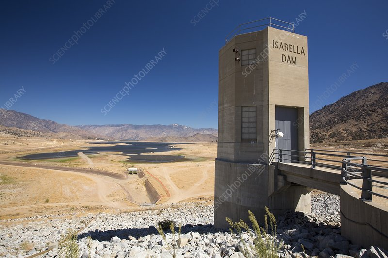 Drought, Lake Isabella, California, USA