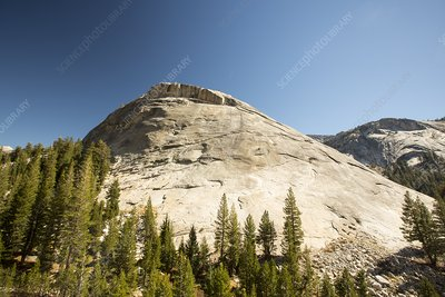 A granite dome in Yosemite