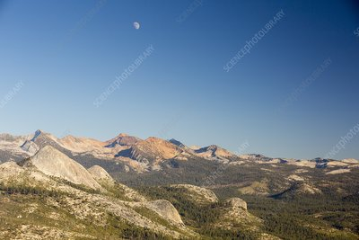 Pacific Crest Trail mountains