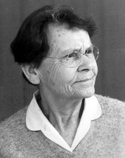 Barbara McClintock, US cell geneticist