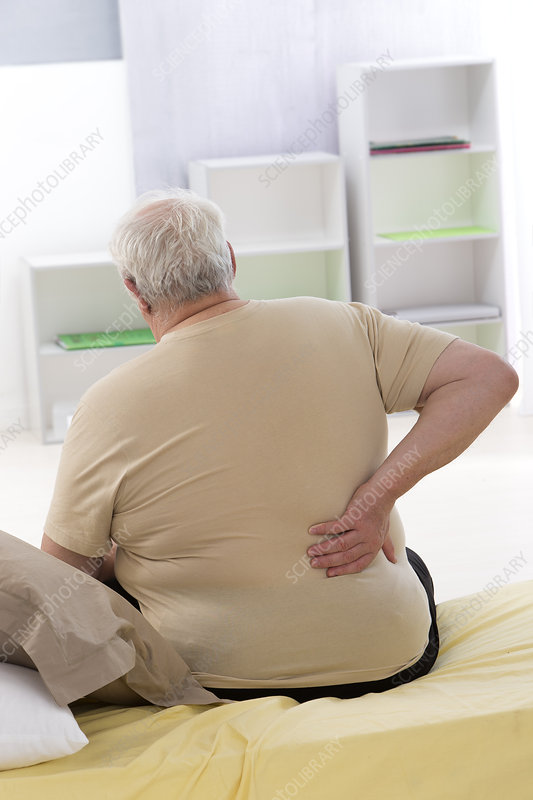 Elderly Person With Lower Back Pain
