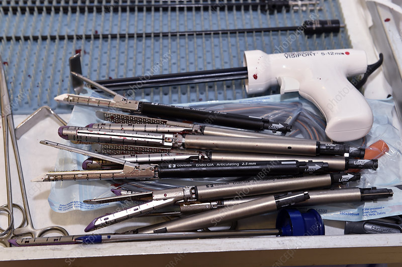 Gastric bypass surgery instruments