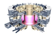 ITER fusion research reactor