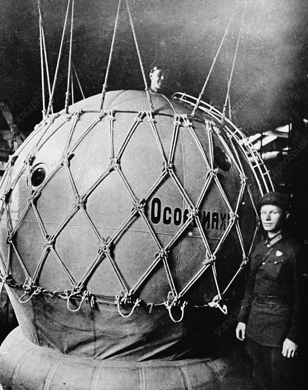 Stratospheric balloon car, 1933