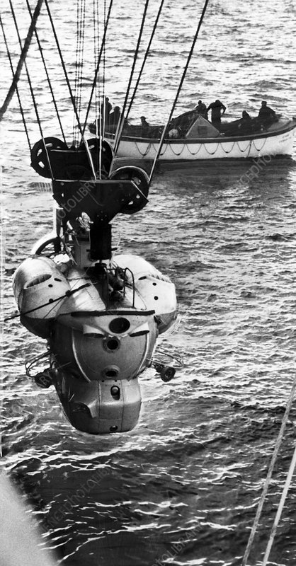 Tinro-2 manned submersible