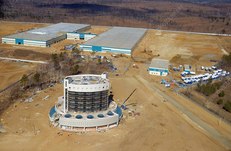 Vostochny Space Centre construction