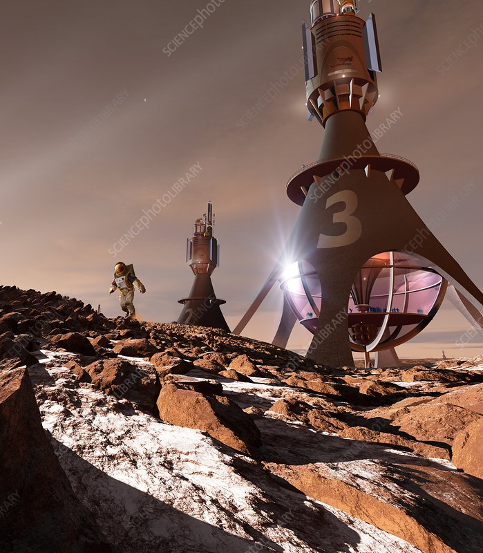 Chinese Mars mission - Stock Image C024/6721 - Science ...