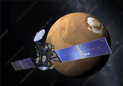 ExoMars orbiter, artwork