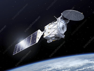 EarthCARE satellite, illustration