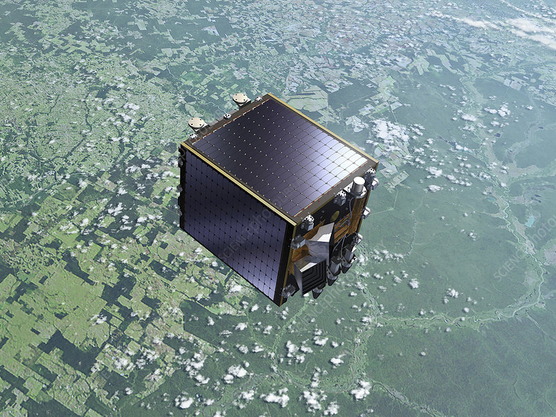 PROBA-V satellite, illustration