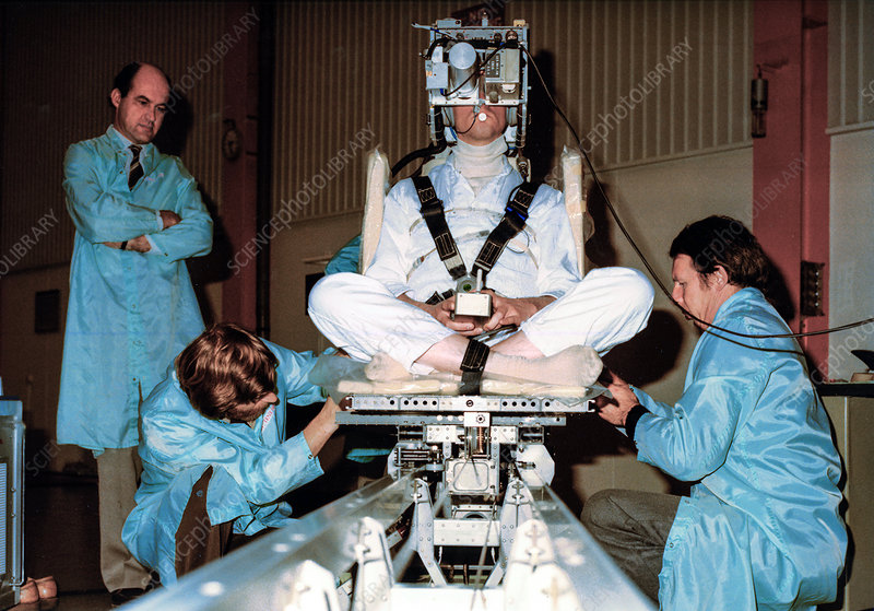 Spacelab-1 Sled experiment