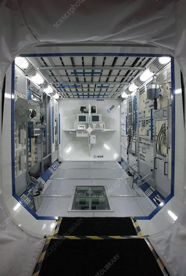 ISS Colombus simulator