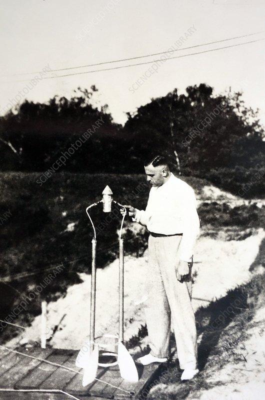 Klaus Riedel, German rocket pioneer