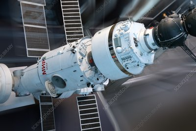Soyuz and MIR space station