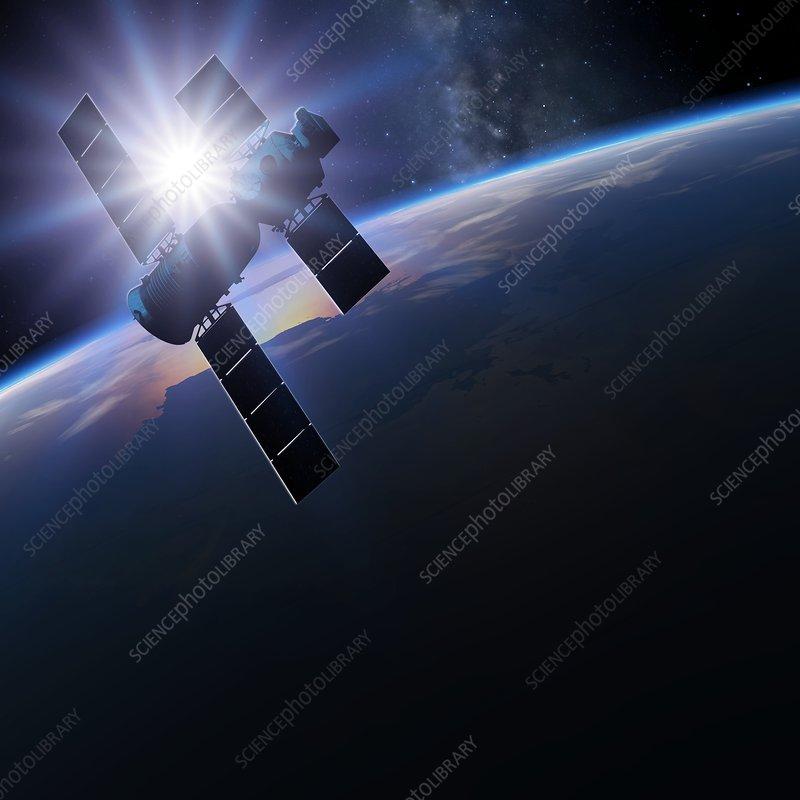 Shenzhou 5 in orbit, illustration