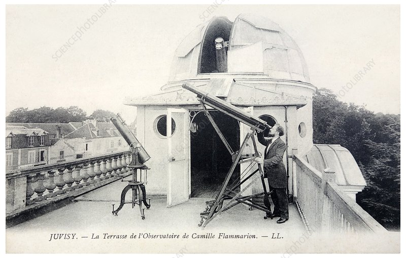 Camille Flammarion, US astronomer