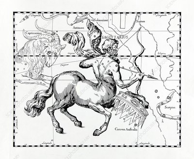 Sagittarius, illustration