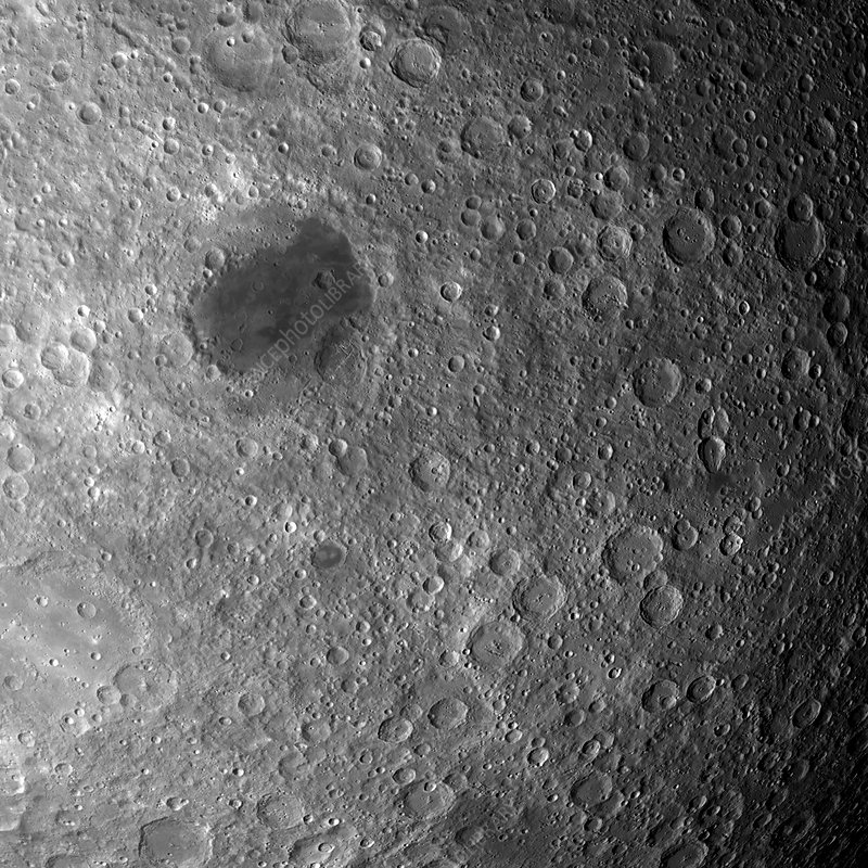 Far side of the Moon, optical image