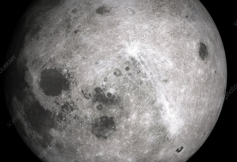 Far side of the Moon, Luna 3 image