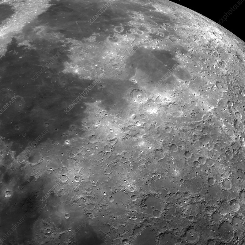 Surface of the Moon, optical image