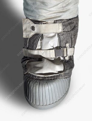 Apollo astronaut boot, illustration