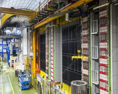 LNGS particle physics laboratory, Italy