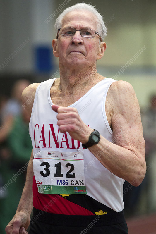 Earl Fee, Canadian senior athlete