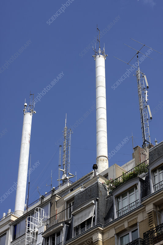 Aerials and smokestacks