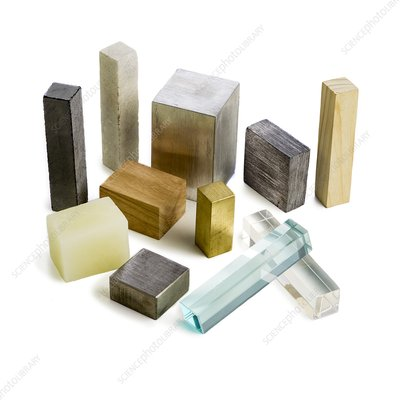 Variety of solid materials