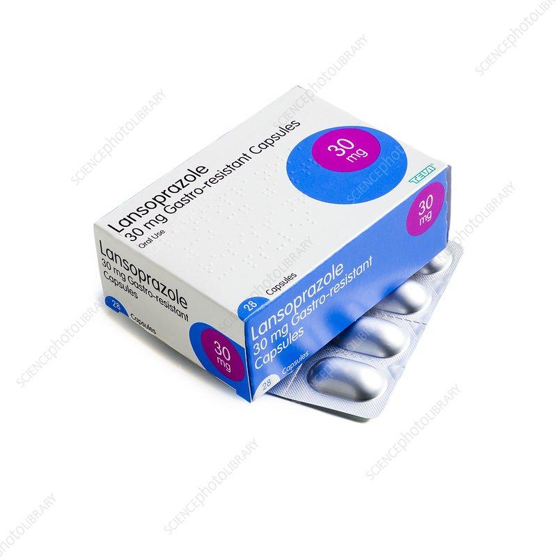 Acid reflux tablets lansoprazole
