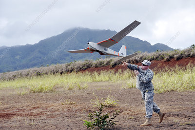 US military surveillance drone
