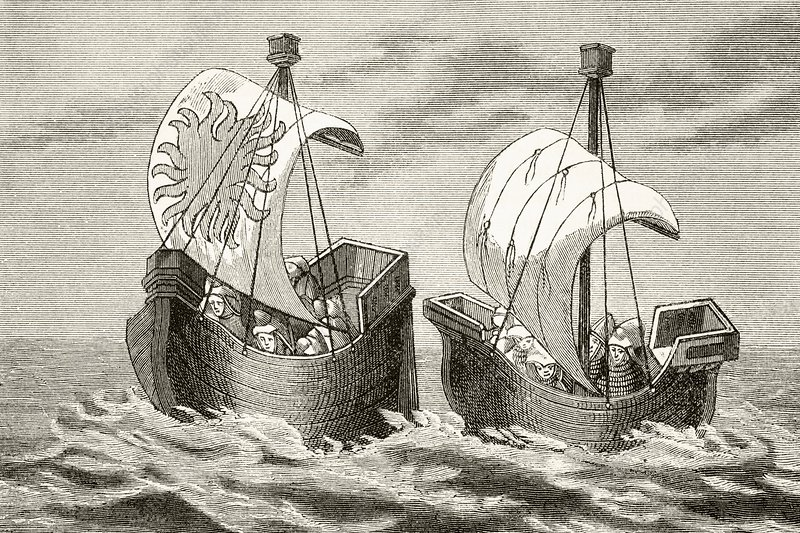 Ships Of The Fourteenth Century