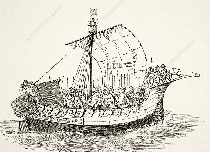 15th Century War Ship