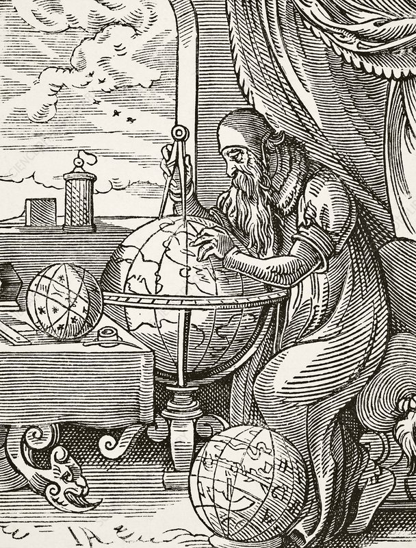 A German Astronomer And Cosmographist