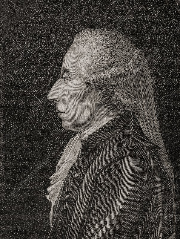 Jean Sylvain Bailly, 1736-1793