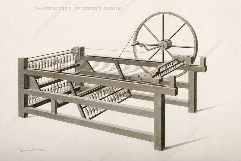 Hargreave's Spinning Jenny