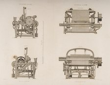 Four Views Of A Power Loom
