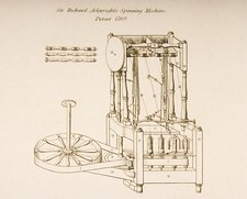 Richard Arkwright's Spinning Machine
