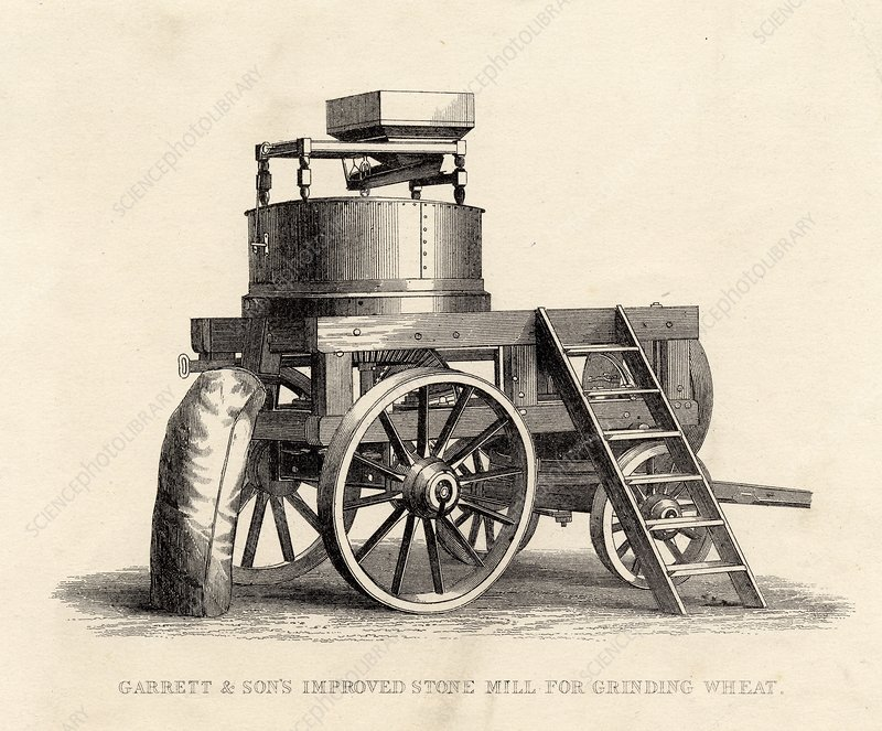 Garrett And Son's Improved Stone Mill