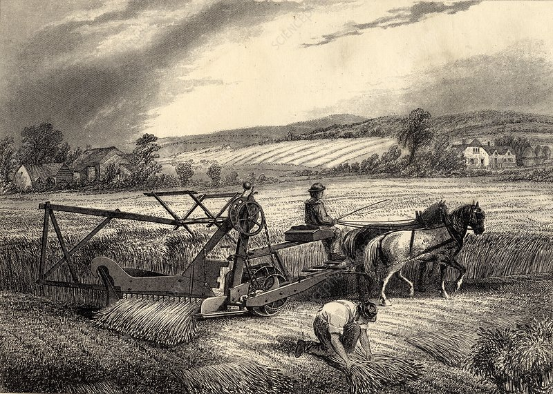 McCormick's Reaping Machine
