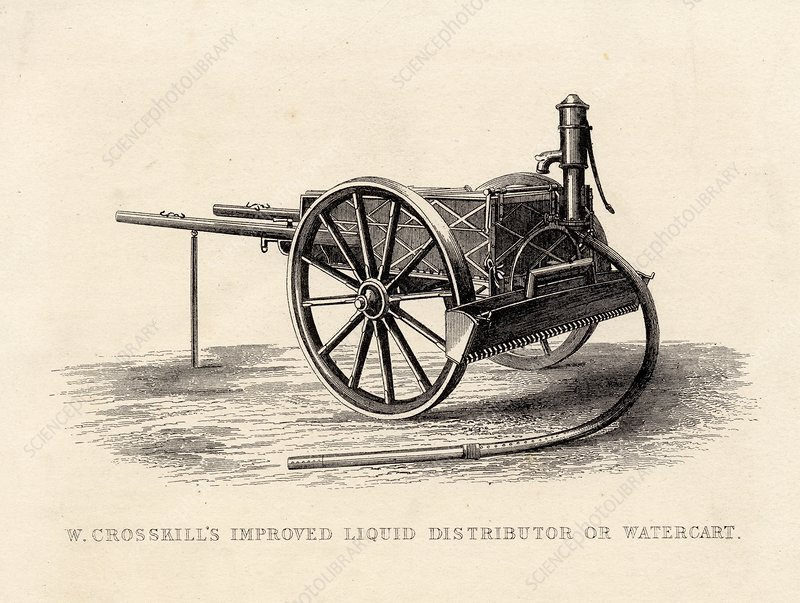 Improved Liquid Distributor Or Watercart