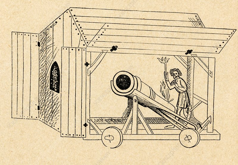 A Medieval Mobile Cannon