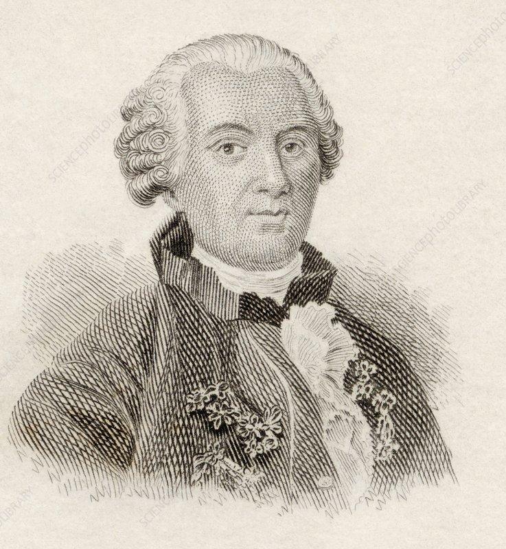 Georges-Louis Leclerc, Comte De Buffon - C0248887-Georges-Louis_Leclerc,_Comte_De_Buffon-SPL
