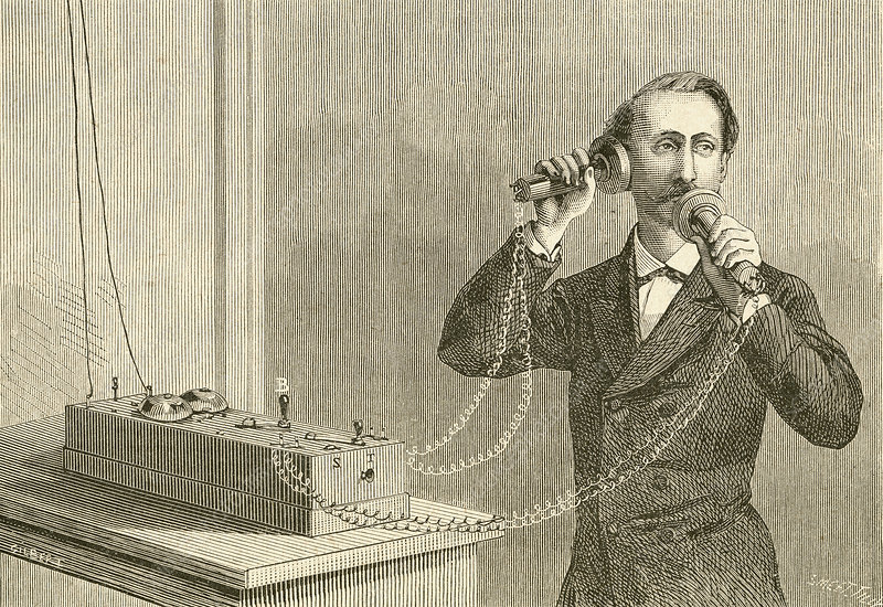 An Early Telephone