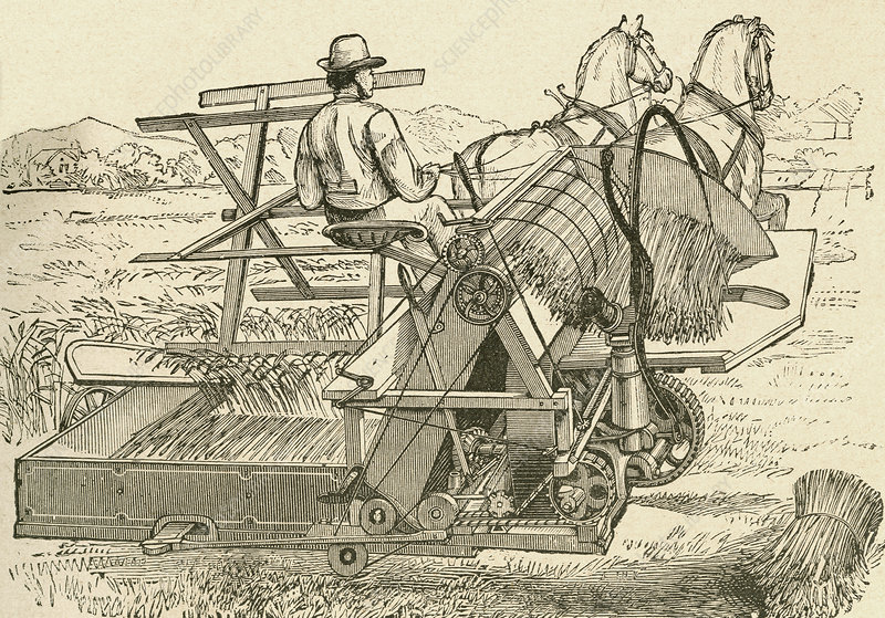 A Harvesting Machine