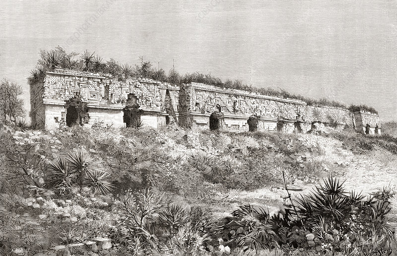 The Governor's Palace, Uxmal, Mexico