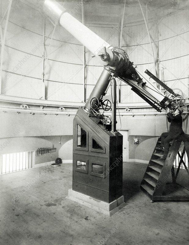 15-inch telescope, Edinburgh Observatory